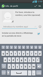 Configuración de Whatsapp - LG Optimus G Pro Lite - Passo 8