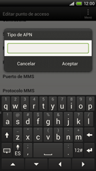 Configura el Internet - HTC ONE X  Endeavor - Passo 14