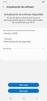 Actualiza el software del equipo - Samsung Galaxy A30 - Passo 8