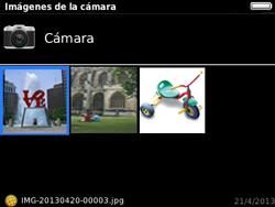 Transferir fotos vía Bluetooth - BlackBerry Curve 9320 - Passo 6