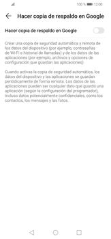 Realiza una copia de seguridad con tu cuenta - Huawei P30 Lite - Passo 6