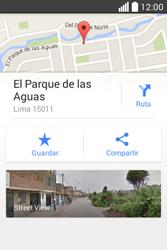 Uso de la navegación GPS - LG L40 - Passo 10