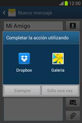 Envía fotos, videos y audio por mensaje de texto - Samsung Galaxy Fame Lite - S6790 - Passo 14