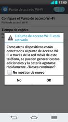 Configura el hotspot móvil - LG G2 - Passo 10
