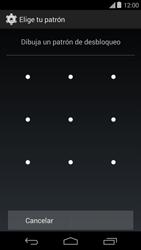 Desbloqueo del equipo por medio del patrón - Motorola Moto E (1st Gen) (Kitkat) - Passo 7