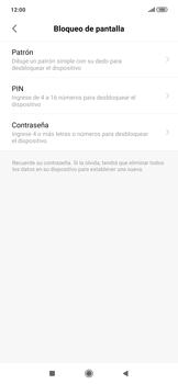 Desbloqueo del equipo por medio del patrón - Xiaomi Redmi Note 7 - Passo 5