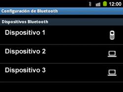 Conecta con otro dispositivo Bluetooth - Samsung Galaxy Y Pro GT - B5510 - Passo 8