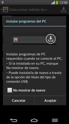 Comparte la conexión de datos con una PC - LG G Flex - Passo 8