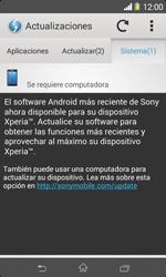 Actualiza el software del equipo - Sony Xperia E1 D2005 - Passo 8
