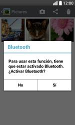 Transferir fotos vía Bluetooth - LG L70 - Passo 9
