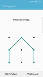 Desbloqueo del equipo por medio del patrón - Samsung Galaxy S7 Edge - G935 - Passo 8