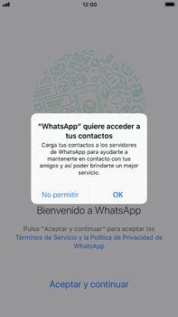 Configuración de Whatsapp - Apple iPhone 7 Plus - Passo 4
