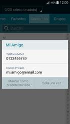 Envía fotos, videos y audio por mensaje de texto - Samsung Galaxy A5 - A500M - Passo 6