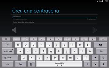 Crea una cuenta - Samsung Galaxy Note Pro - Passo 10