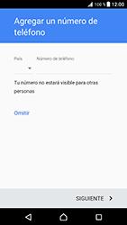 Crea una cuenta - Sony Xperia XZ Premium - Passo 13