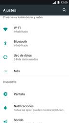 Desactiva tu conexión de datos - Motorola Moto C - Passo 3