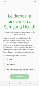 Cómo funciona el Samsung Health - Samsung Galaxy S20 - Passo 6