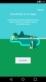 Uso de la navegación GPS - LG G4 - Passo 5