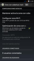 Configura el hotspot móvil - Acer Liquid Z410 - Passo 7