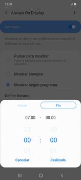 Cómo activar Always on Display - Samsung Galaxy S10 Lite - Passo 10