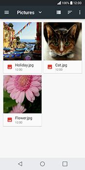 Envía fotos, videos y audio por mensaje de texto - LG Q6 - Passo 18