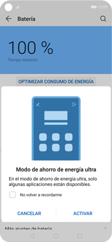 Modo de ahorro de batería - Huawei Nova 5T - Passo 4