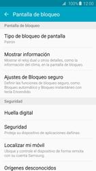 Desbloqueo del equipo por medio del patrón - Samsung Galaxy S6 Edge - G925 - Passo 16