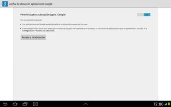 Uso de la navegación GPS - Samsung Galaxy Note 10-1 - N8000 - Passo 10
