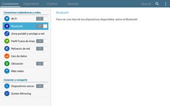 Conecta con otro dispositivo Bluetooth - Samsung Galaxy Note Pro - Passo 5