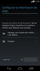 Crea una cuenta - Motorola Moto E (1st Gen) (Kitkat) - Passo 19