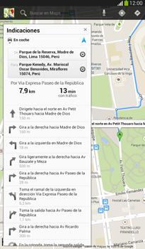 Uso de la navegación GPS - Samsung Galaxy Tab 3 7.0 - Passo 13