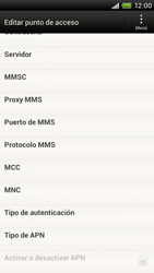 Configura el Internet - HTC ONE X  Endeavor - Passo 12