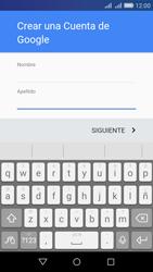 Crea una cuenta - Huawei Y6 - Passo 4