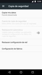 Restaura la configuración de fábrica - Motorola Moto G5 - Passo 5