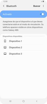 Conecta con otro dispositivo Bluetooth - Samsung Galaxy A80 - Passo 7