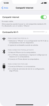 Configura el hotspot móvil - Apple iPhone XS Max - Passo 8