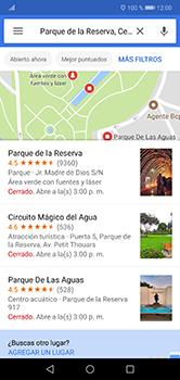 Uso de la navegación GPS - Huawei P20 Lite - Passo 8