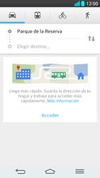 Uso de la navegación GPS - LG G2 - Passo 15