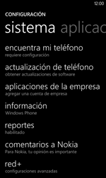 Restaura la configuración de fábrica - Nokia Lumia 820 - Passo 4