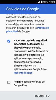 Crea una cuenta - Alcatel POP 4 Plus - 5056 - Passo 16
