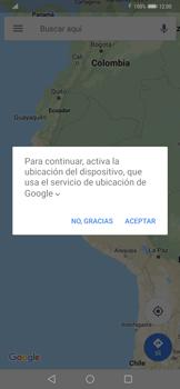 Uso de la navegación GPS - Huawei Mate 20 Pro - Passo 5