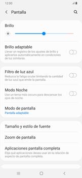 Ajustar el brillo/ Suspensión de pantalla - Samsung Galaxy A30 - Passo 5