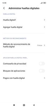 Habilitar seguridad de huella digital - Xiaomi Redmi Note 9 Pro - Passo 14