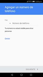 Crea una cuenta - Huawei P9 Lite 2017 - Passo 12