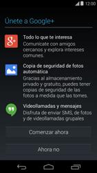 Crea una cuenta - Motorola Moto E (1st Gen) (Kitkat) - Passo 18
