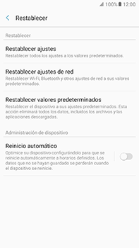 Restaura la configuración de fábrica - Samsung Galaxy A7 2017 - A720 - Passo 6