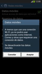 Desactiva tu conexión de datos - Samsung Galaxy S4  GT - I9500 - Passo 6