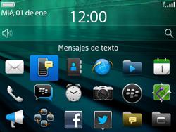 Envía fotos, videos y audio por mensaje de texto - BlackBerry Bold 9720 - Passo 2