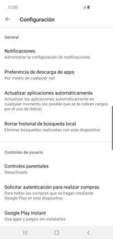 Cambiar configuración de actualizaciones de aplicaciones - Samsung S10+ - Passo 6