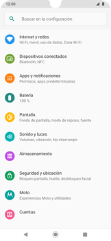 Configura el WiFi - Motorola One Zoom - Passo 4